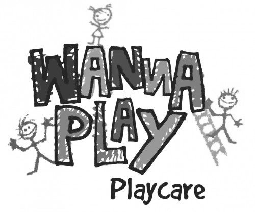wanna play logo with playcare