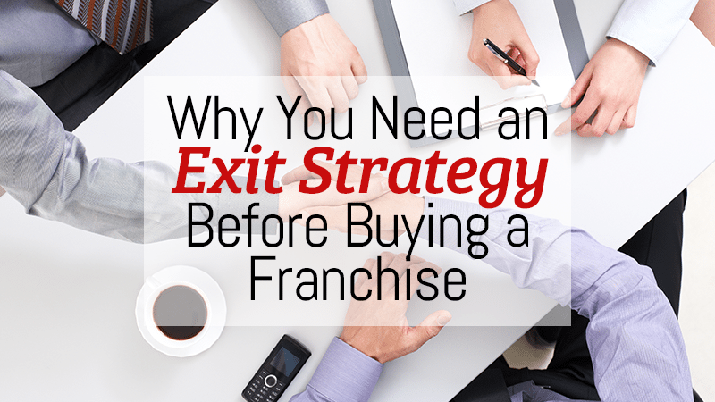 Why You Need an Exit Strategy Before Buying a Franchise